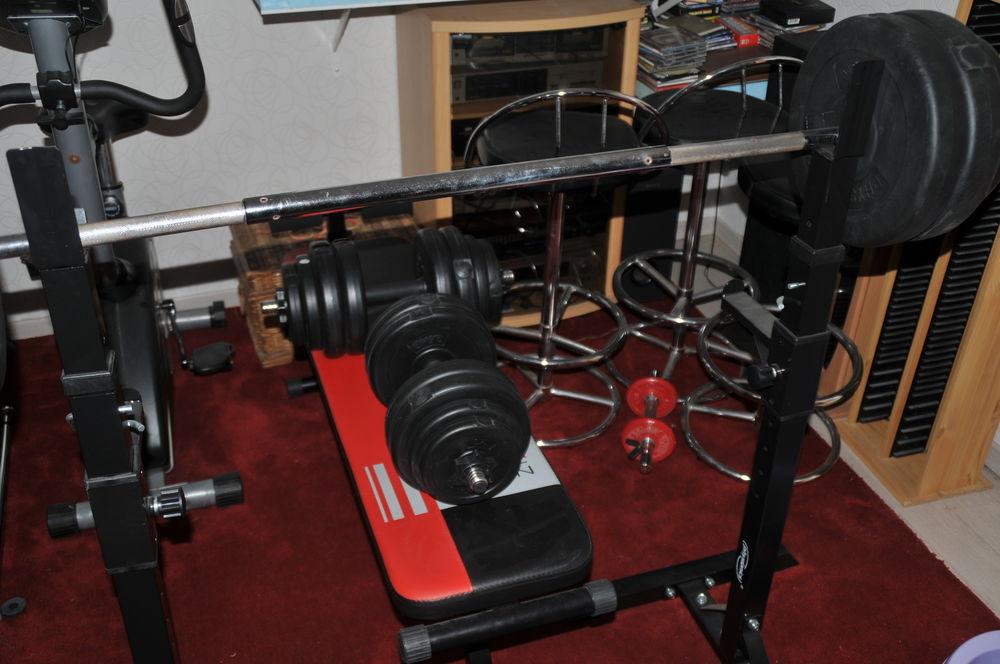 Achetez banc de musculation occasion annonce vente saint jean de niost 01 - Vente poids musculation ...