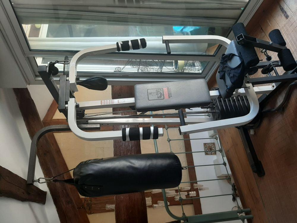 banc de musculation complet avec ses poids 400 Canet (34)