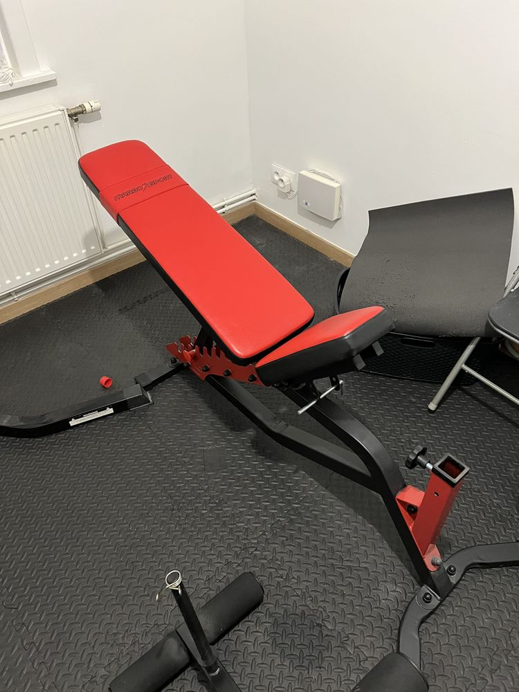 Banc de musculation + repose barre + extension jambe 100 Neuville-en-Ferrain (59)