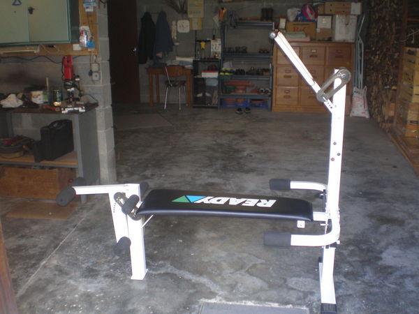 banc de musculation elastique