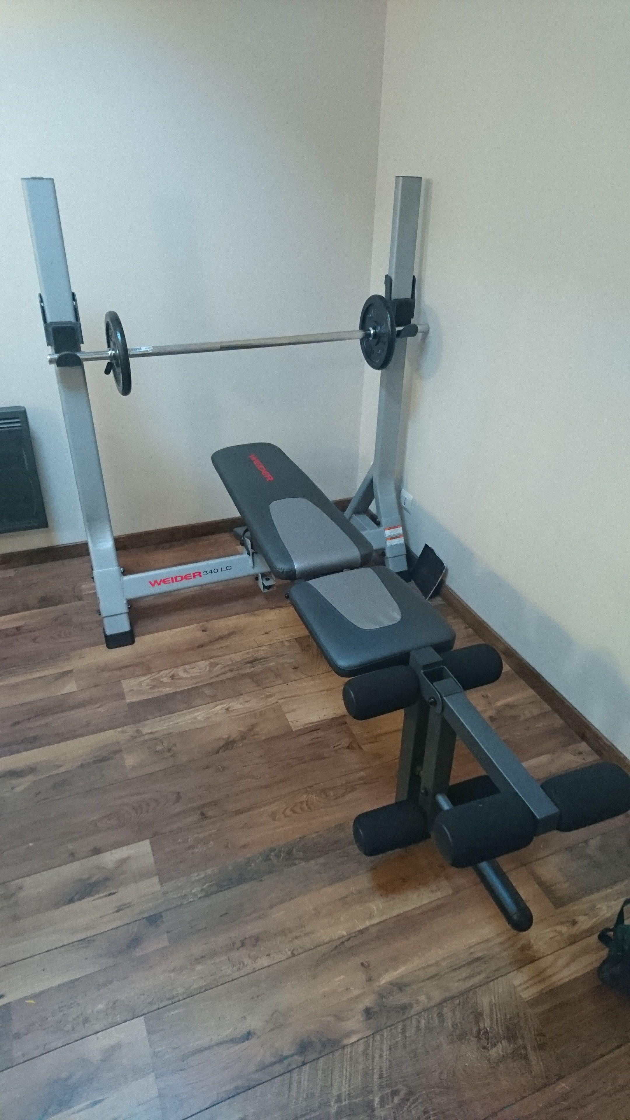 banc de musculation 340 lc