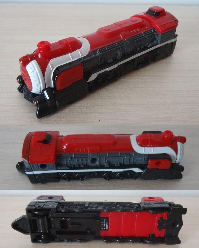 Bandai Ressha Sentai ToQger DX ToQ Changer Red Ressha train  5 Saint-Ambroix (30)