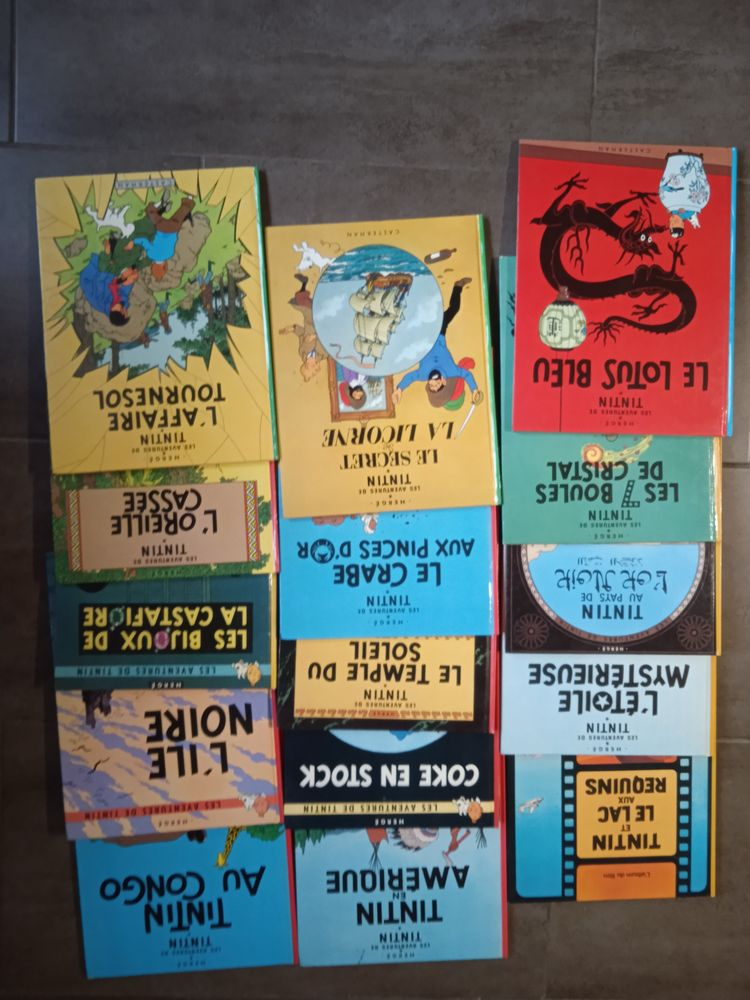 Bande dessiné Tintin  0 Trémargat (22)