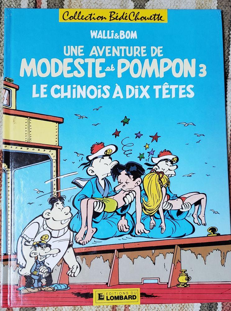 Bande dessinée Modeste et Pompon 10 Viviers-du-Lac (73)