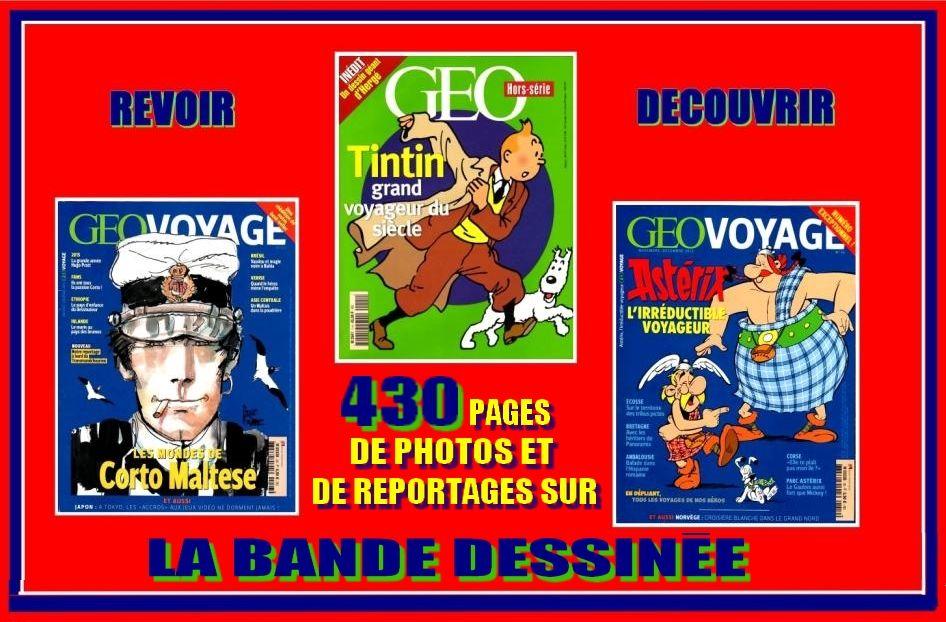 BANDE DESSINÉE - géo - TINTIN / ASTÉRIX / CORTO 25 Strasbourg (67)