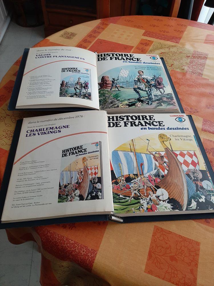 BANDES DESSINÉES DE L HISTOIRE DE FRANCE LAROUSSE12  Anné 200 Puteaux (92)