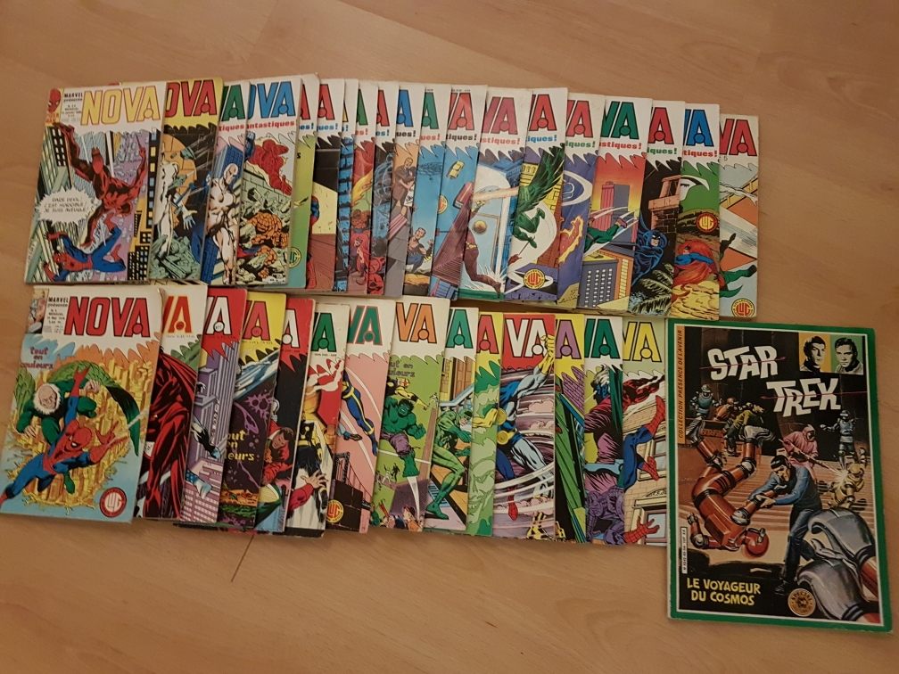 Bandes dessinées NOVA 150 Sierck-les-Bains (57)