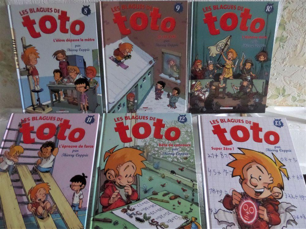 bandes dessinées de TOTO  et  TOTOCHE 4 Lyon 8 (69)
