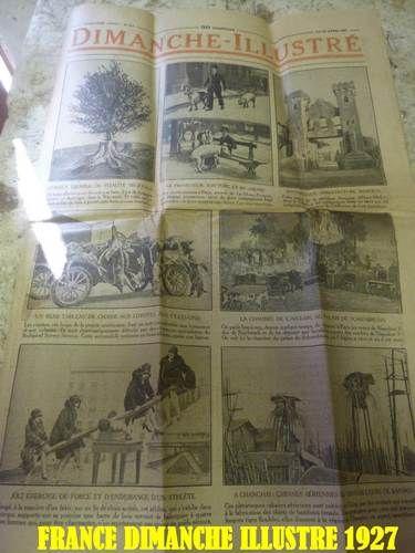 BandesDessinées documentsanciens vieuxpapiers Journaux  1927 15 Saint-Médard-en-Jalles (33)