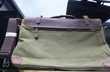 Sac bandoulière Convey en cuir et toile Kaki neuf Maroquinerie