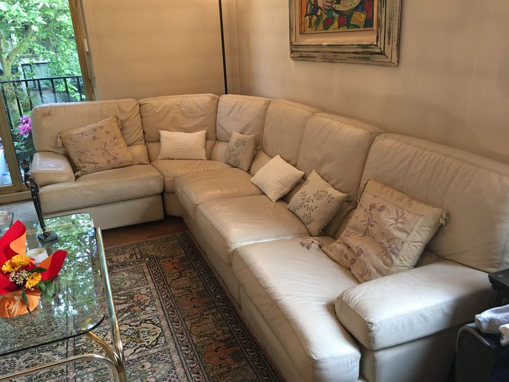 BANQUETTE D'ANGLE CUIR 500 Neuilly-sur-Seine (92)