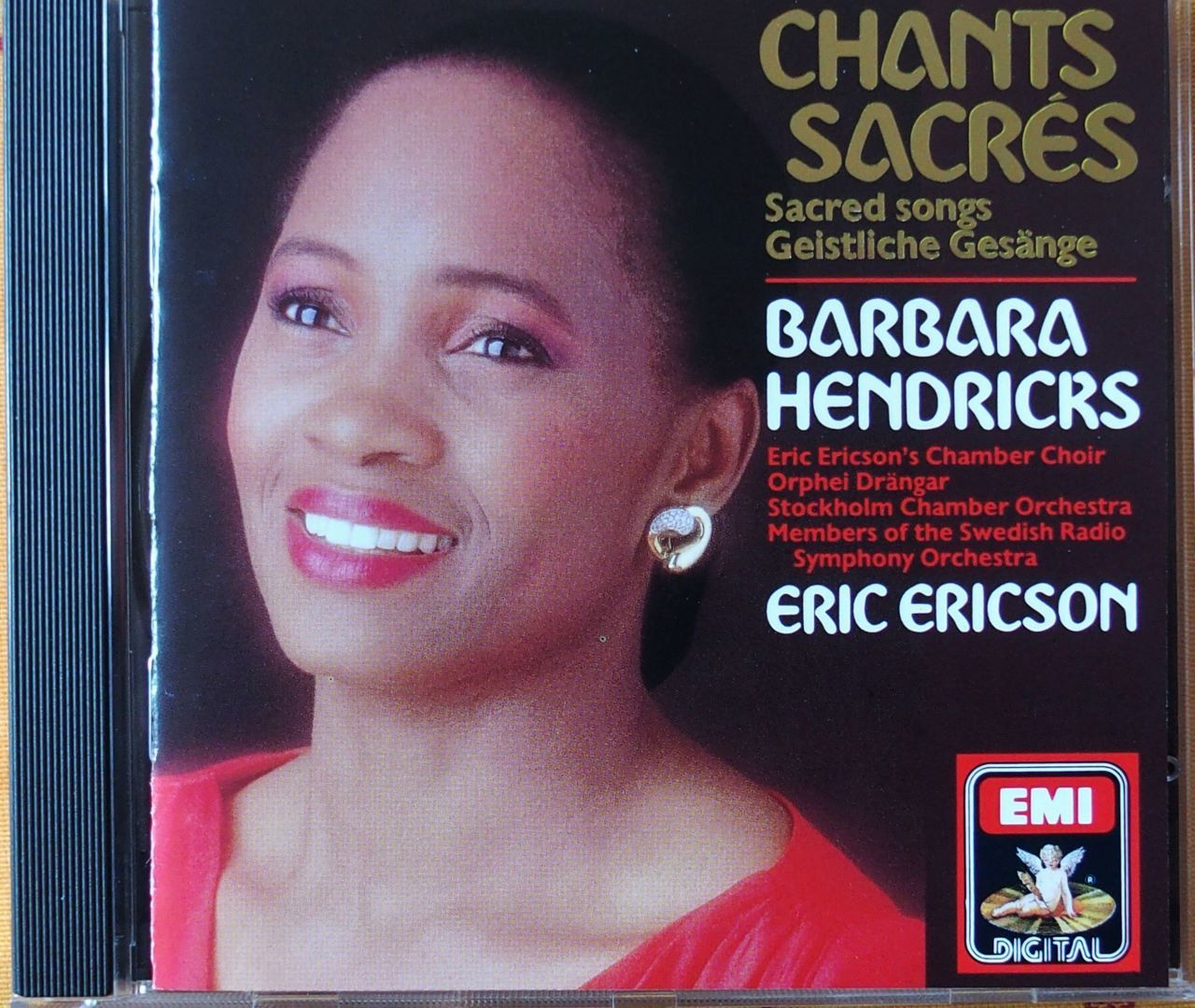 CD Barbara HENDRICKS  Chants Sacrés 5 Lille (59)