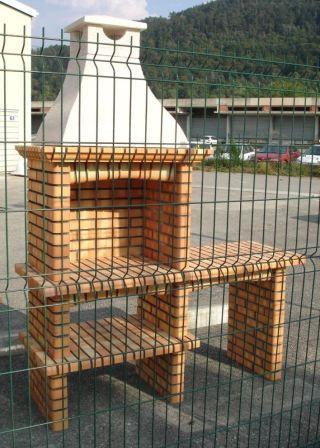Barbecue brique neuf Décoration