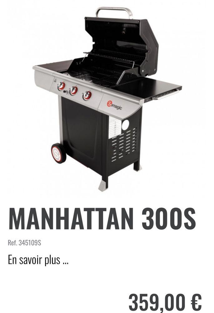 Outback Manhattan Barbecue au gaz: : Jardin
