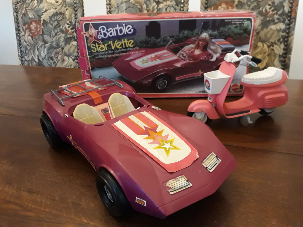 Barbie et accessoires vintage  0 Leymen (68)