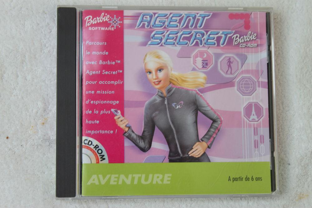 CD Rom Barbie Agent secret  1 Montigny-Lencoup (77)