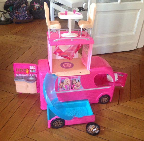 Barbie Camping-car 35 Boulogne-Billancourt (92)