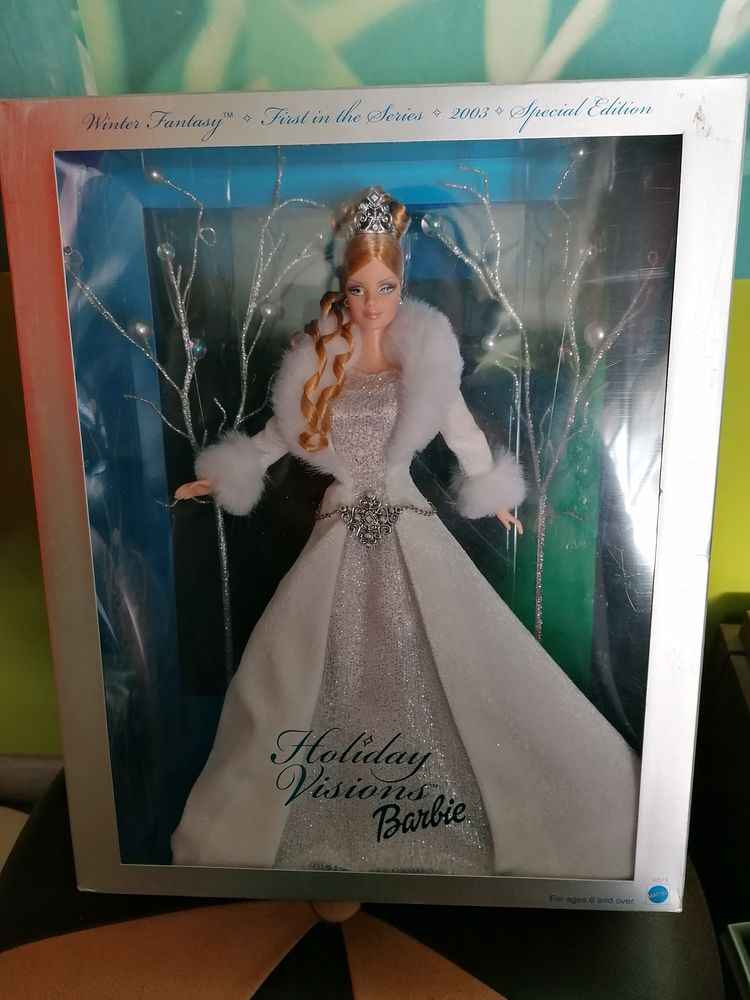Barbie holiday visions winter fantasy 2003 neuf 80 Salsigne (11)