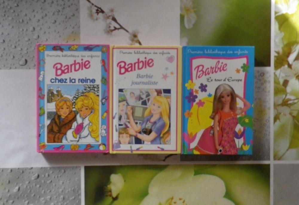 LOT DE 3 BARBIE PREMIERE BIBLIOTHEQUE DES ENFANTS 5 Bubry (56)