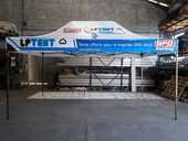 Barnum pliant 3 m x 4,50 m (toit PVC). 390 Charantonnay (38)