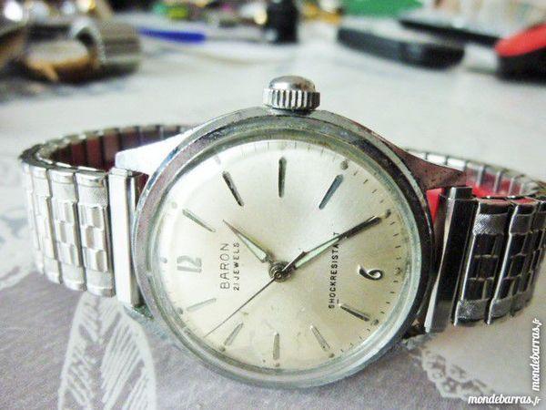 BARON montre mécanique 1960 DIV0535 85 Metz (57)