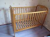 Lit à barreaux bébé - pin massif - 120x60 80 Corbas (69)