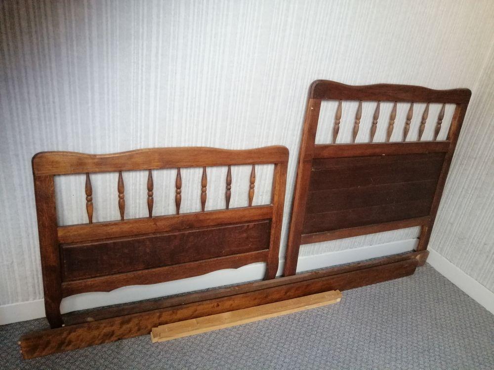 Lit à barreaux en bois 40 Chauny (02)
