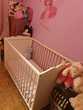 Le lit à barreaux pour bébé Meubles