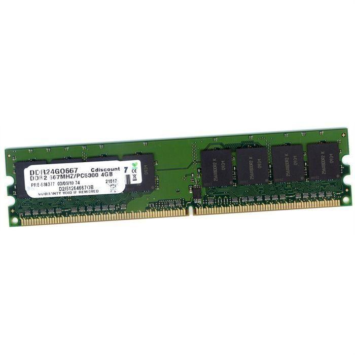 Barrettes Mémoire DDR2 1 Go Occasion 0 Germignac (17)