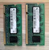 lot de 2 barrettes de mémoire DDR2 512Mo PC2-5300 0 La Seyne-sur-Mer (83)