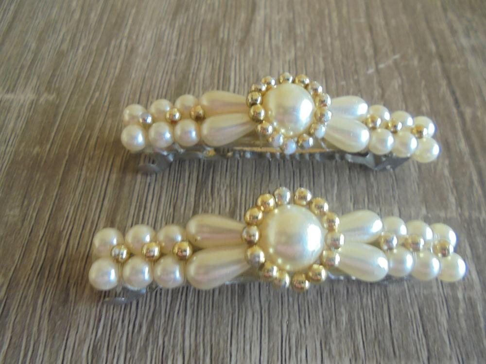 2 barrettes perles (25) 5 Tours (37)