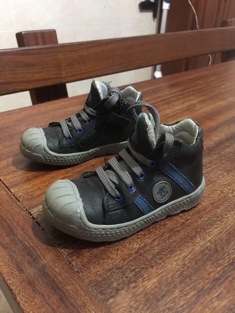 Basket enfant garçon à lacets avec fermeture éclair 5 Saleilles (66)