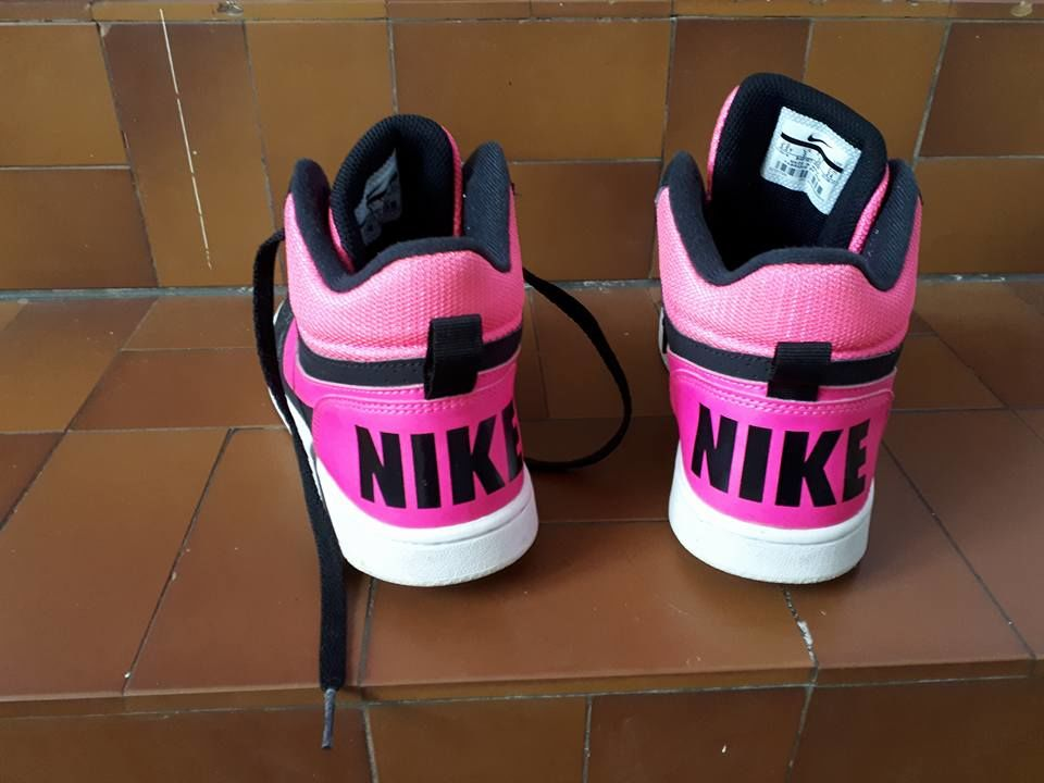 baskets nike fille point ; 38 Chaussures
