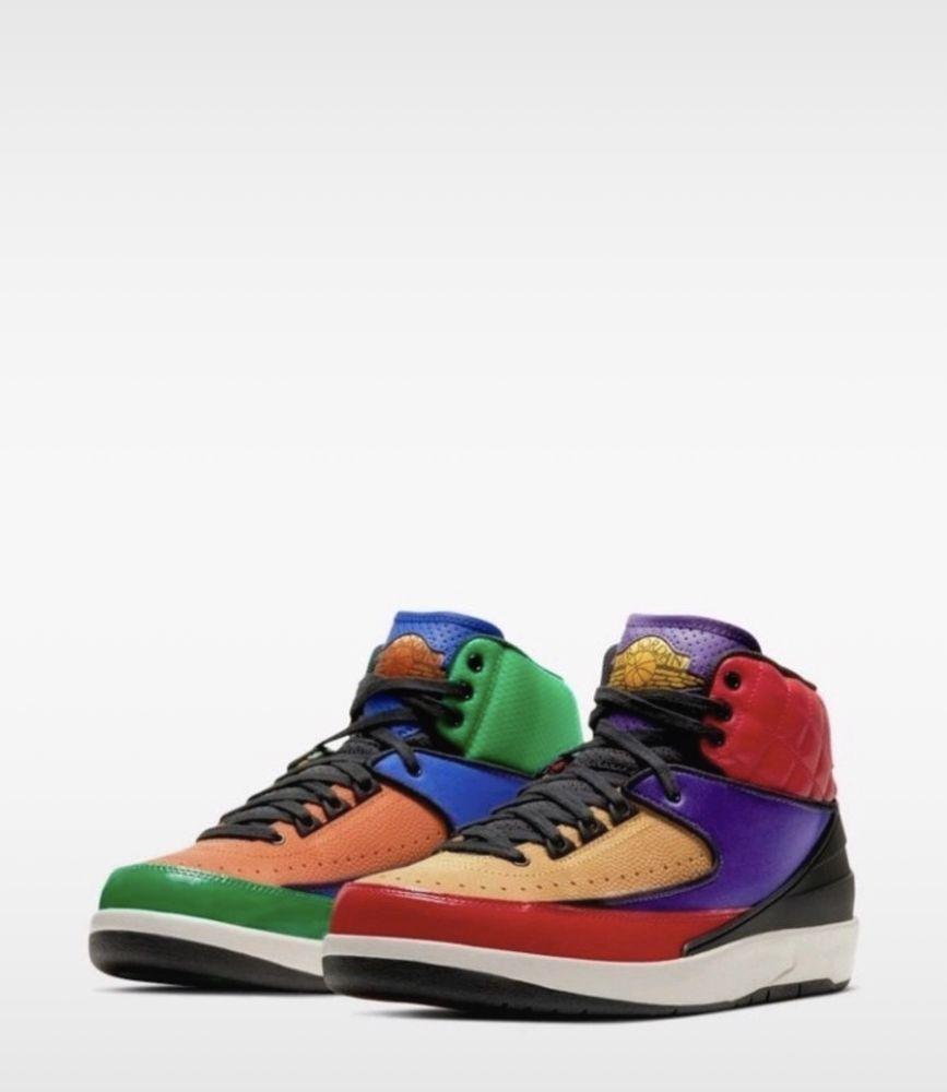 Baskets Nike Air Jordan 2 multicolore  225 Bagnolet (93)