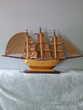 bateau voilier en bois long;80cm x hauteur 45 cm Jeux / jouets