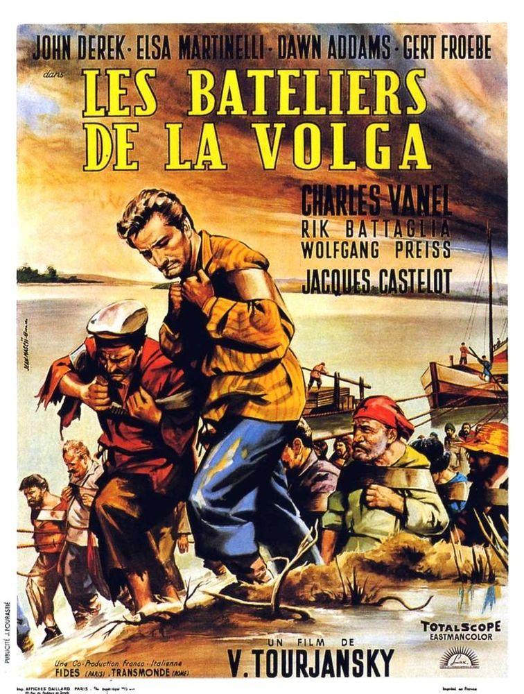 LES BATELIERS DE LA VOLGA (j derek) DVD et blu-ray