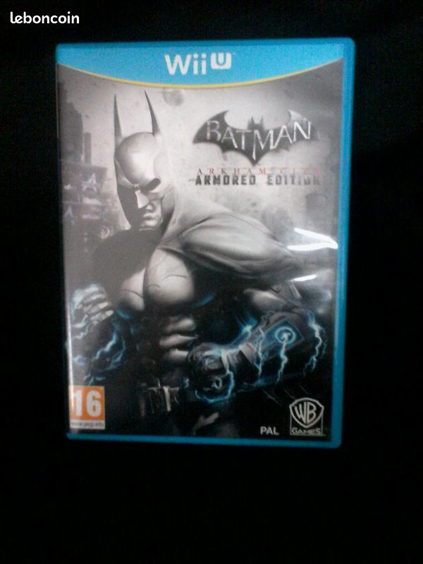 JEU BATMAN ARKHAM CITY AMORED EDITION SUR WII U (RMP à Paris 10 Brunoy (91)