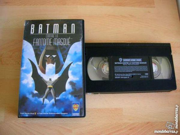 K7 VHS BATMAN contre le fantôme masqué DESSIN ANIM 5 Nantes (44)