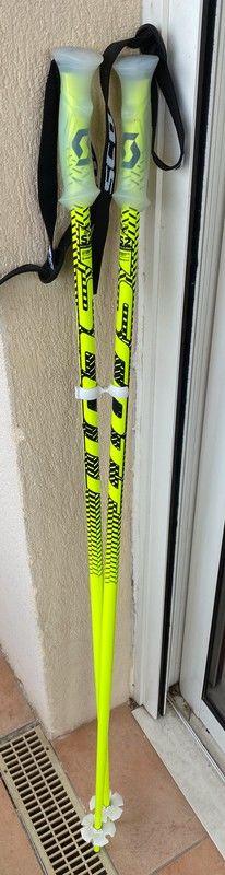 2 batons de ski scott 120 cms 30 Allauch (13)