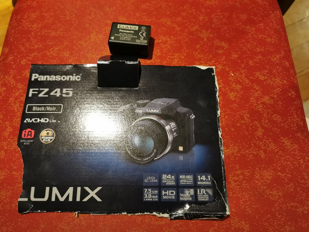 Batterie appareil photo Panasonic 40 Villeneuve-sur-Lot (47)