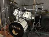 Batterie complète semi-pro TAMA Rockstar et cymbales SABIAN 1900 Chartres (28)