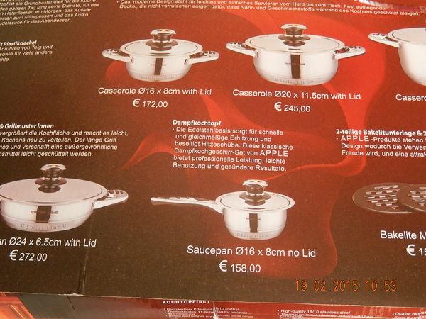 achetez batterie de cuisine neuf revente cadeau annonce vente 224 fos sur mer 13 wb149132877