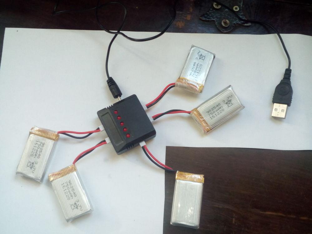 Batterie de Lipo 3.7V 750mAh 15 Vichy (03)
