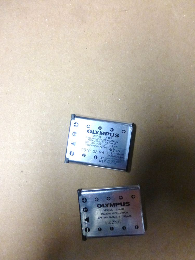 BATTERIE pour appareil photo OLYMPUS neuve 5 Doussard (74)