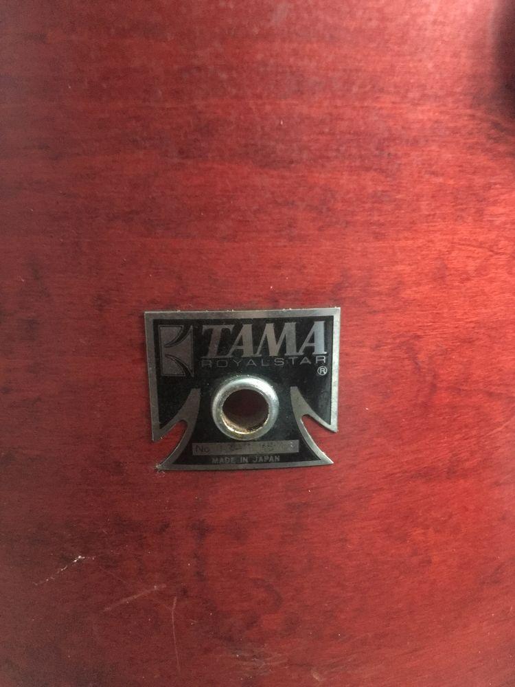 batterie TAMA ROYAL STAR rouge (numérotée) 0 Pont-Audemer (27)