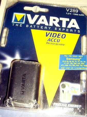 batterie varta V289 neuvecamescope samsung VP-D55  8 Versailles (78)