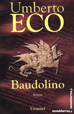 Baudolino - d'Umberto Eco 9 Livry-Gargan (93)
