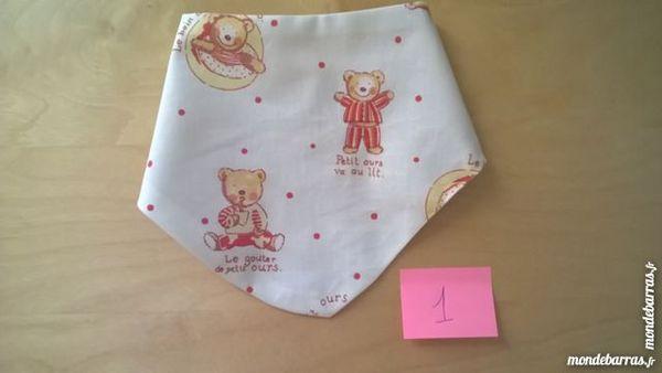 bavoir bandanas pour bébé 8 Langon (33)