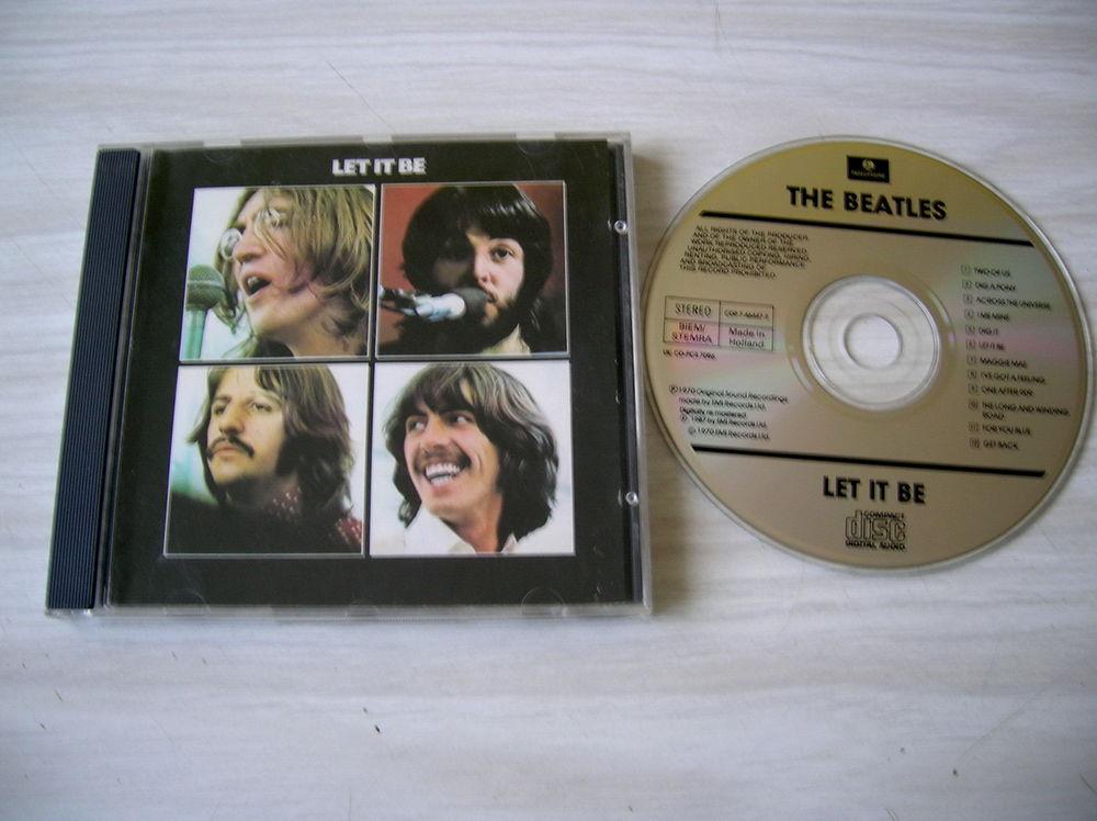 CD THE BEATLES Let it be 8 Nantes (44)