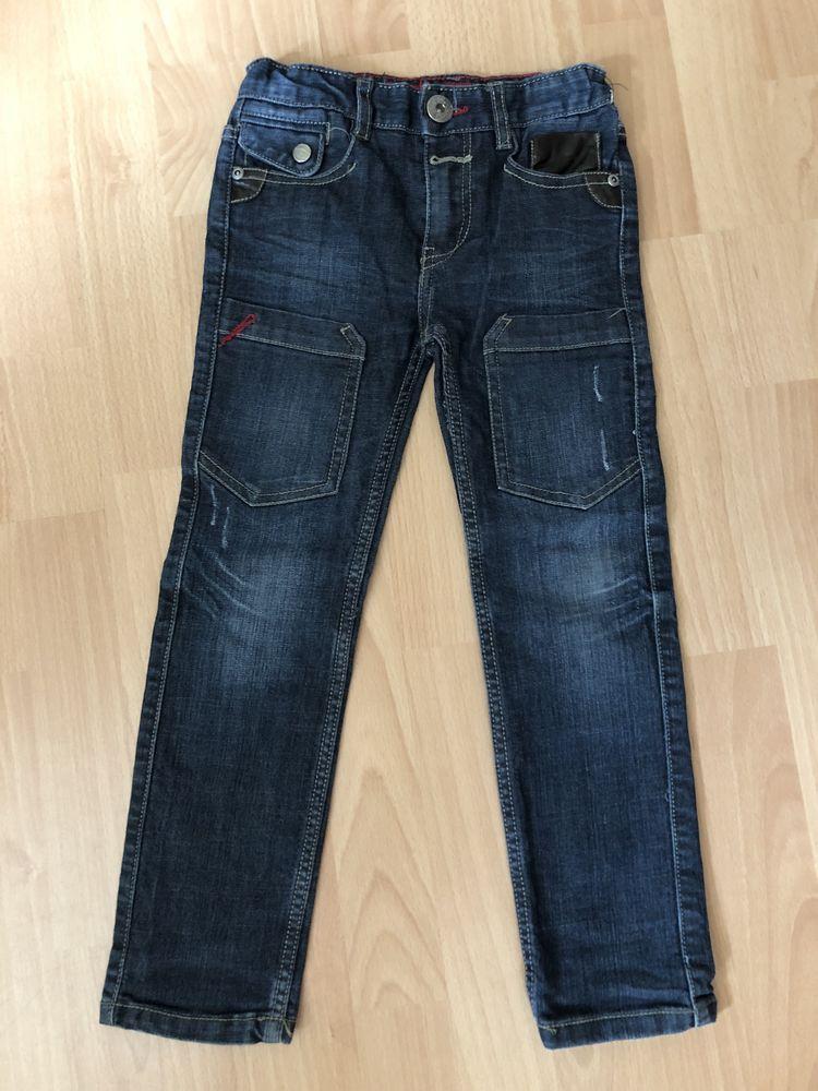 Beau jeans bleu CREEKS T. 6 ans TBE 3 Saint-Chinian (34)